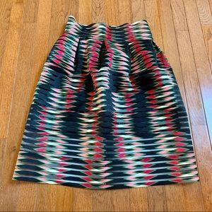 LIKE NEW - Mia Mia - Colorful A-Line Skirt - L